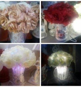 "Лампа-ночник ""Розы"""