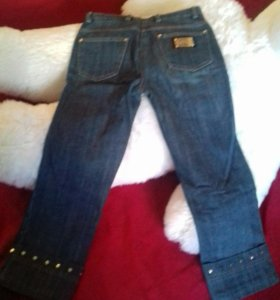 Женские джинсовые капри размер