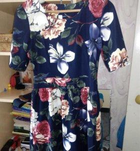 Платье , р-р 46-48