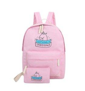 Рюкзак портфель сумка единорог