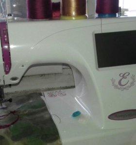 Машинка швейная есть функция вышивания с сфлэшки
