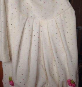 Платье с балеро на малышек