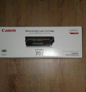 Canon Cartridge 703 для лазерной печати.