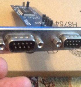 PCI контроллер 2хCOM9