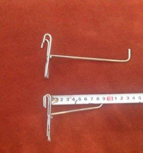 Крючки хромированные для сетки.