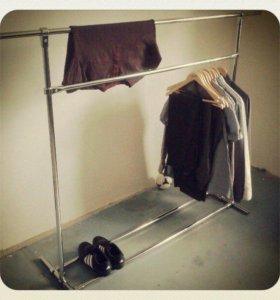 Вешалка напольная для одежды, модель 6