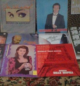 Виниловые диски советских времён