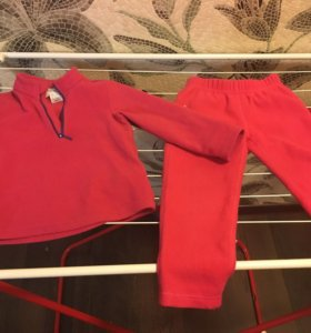 Кофта и штаны флис