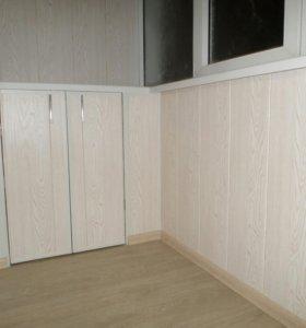 Отделка лоджий и балконов в Брянске