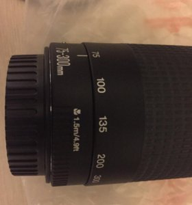 Объектив Canon 75-300 мм