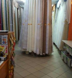 Тюль, шторы, домашний текстиль.