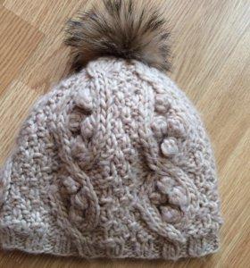 женская шапочка зима
