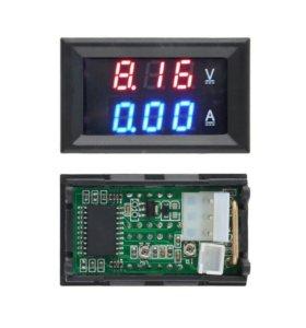 Цифровой электронный амперметр вольтметр