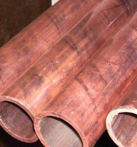 Труба медная диаметром 32 мм