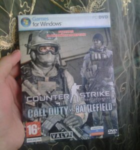 "Диск для PC DvD ""Cs:Go,,"