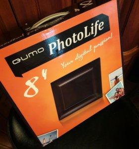 Цифровая фоторамка (новая, в упаковке)