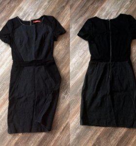 Чёрное платье ostin