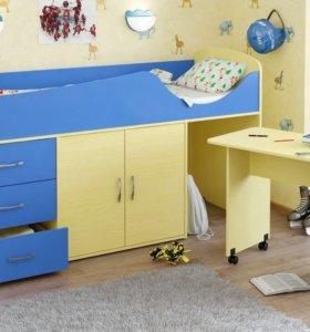 Кровати и детские комнаты