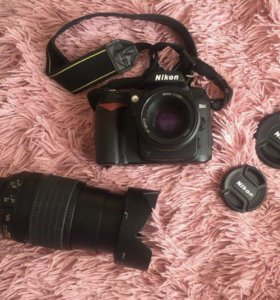 Фотоаппарат Nikon D90 + 2 объектива