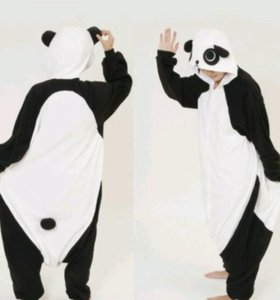 Панда классическая, кигуруми комбинезон пижама