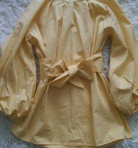 Хлопковая блуза 44-48