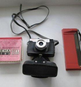 Фотоаппарат Смена -8М + вспышка