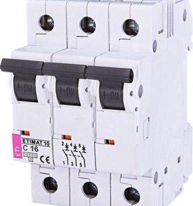 Автоматические выключатели ETI ETIMAT10