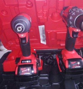 Milwaukee fuel 2  шуруповерт и винтаверт