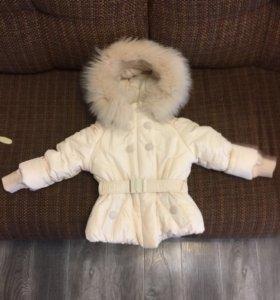Зимний детский костюм (куртка и  полукомбинезон)