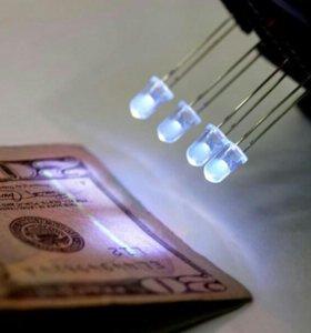 Ультрафиолетовый LED светодиод