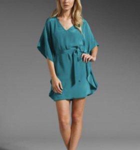 Akiko шелковое платье новое