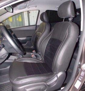 Hyundai Solaris салон премиум класса
