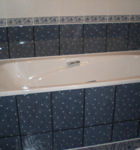 Ремонт ванной+ Натяжной потолок в подарок