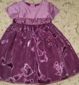 Платье д/д праздничное