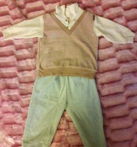 Новый костюм на мальчика