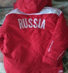Спортивные сборные женские и мужские куртки