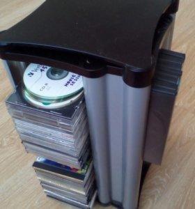 Стойка для ДВД и СД дисков