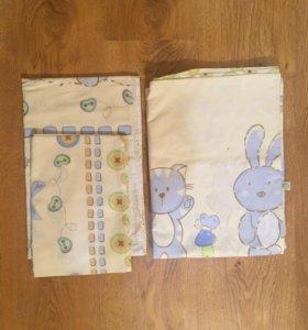 Комплект постельного белья для малышей