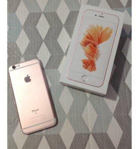"""Apple iPhone 6s 16 ГБ """"розовое золото"""""""