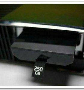 Жёсткий диск для xbox360 на 250гигабайт