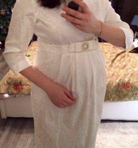 Платье свадебное для беременных