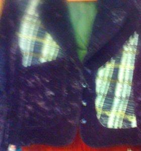 Костюм( юбка+пиджак)