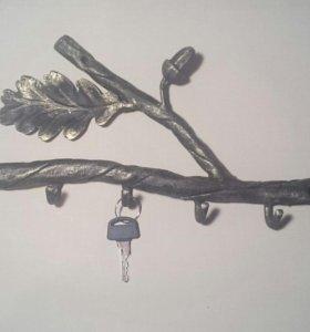 Кованые настенные ключницы