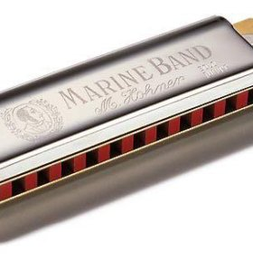 Губная гармошка Marine Band364/24G-major(Германия)