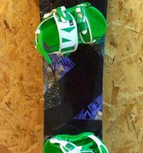 Сноуборд Nidecker+крепления