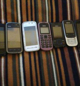 Телефоны на запчастие