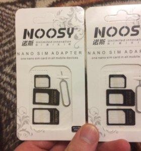 Адаптер нано сим карты (nano sim adapter)