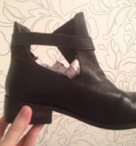 Новые ботинки женские, натур. кожа