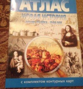 Контурная карта по истории