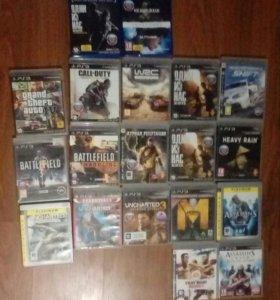 Диски на PS3 и PS4